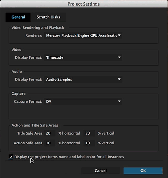 The new project settings in the upcoming release will have an additional option that changes the behaviour for renaming clips. Why not add another control for the metadata model?