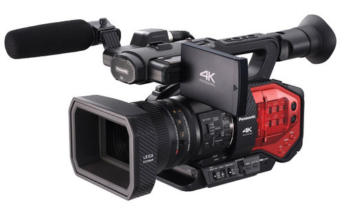 An interesting 4k ENG camera from Panasonic.
