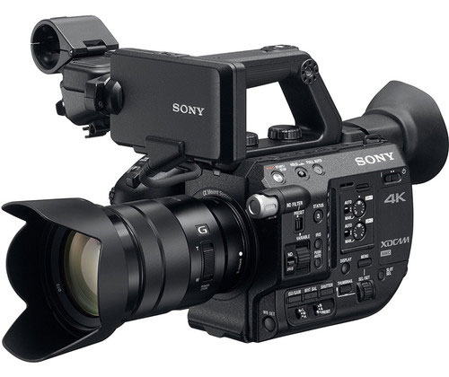 My new personal favourite - Sony PXW-FS5. Very compact, great ergonomics, a true masterpiece.