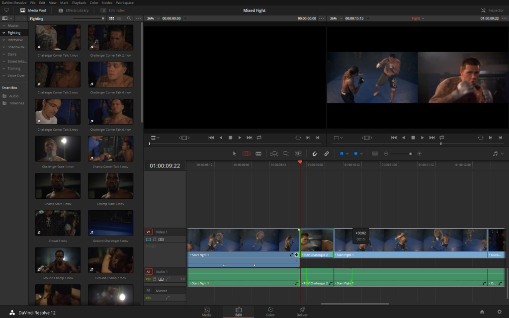 The additions to Resolve 12 trimming and editing make it a viable tool for creative editing.