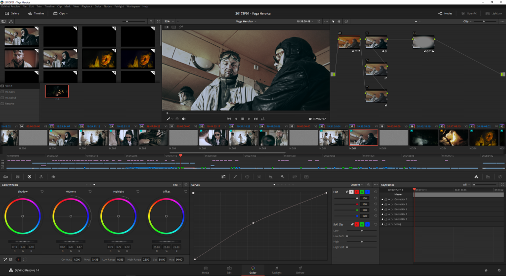 Grading in Resolve is pure pleasure.
