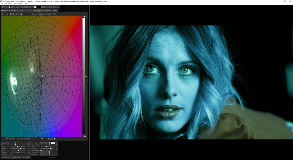 3D LUT Creator will blow your mind and make you think about color in a different way.